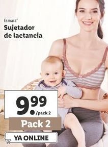 Oferta de Sujetador de lactancia esmara por 9,99€