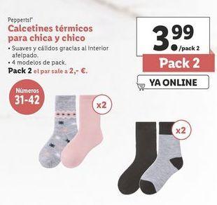 Oferta de Calcetines niña Pepperts por 3,99€