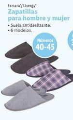 Oferta de Zapatillas hombre Livergy por 3,99€