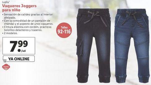 Oferta de Vaqueros Lupilu por 7,99€