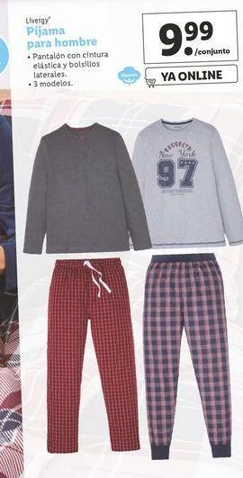 Oferta de Pijama hombre Livergy por 9,99€