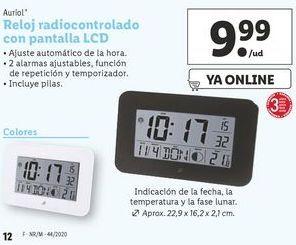 Oferta de Relojes Auriol por 9,99€