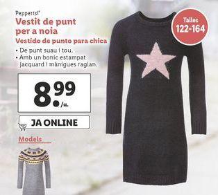 Oferta de Vestidos Pepperts por 8,99€