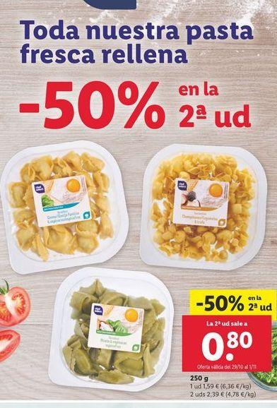 Oferta de Pasta chef select por 1,59€