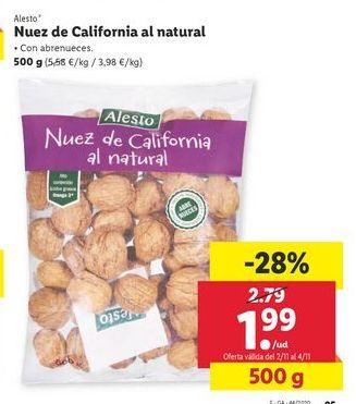 Oferta de Nueces Alesto por 1,99€
