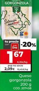 Oferta de Gorgonzola por 1,67€