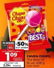 Oferta de Caramelos Chupa Chups por 2,19€