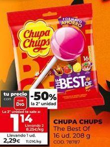 Oferta de Caramelos Chupa Chups por 2,29€