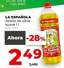 Oferta de Aceite de oliva La Española por 2,49€