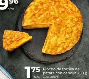 Oferta de Tortilla por 1,75€