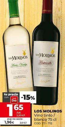 Oferta de Vino Los Molinos por 1,65€