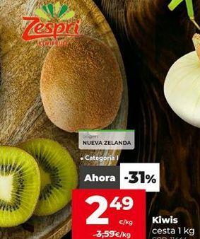 Oferta de Kiwis por 2,49€