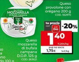 Oferta de Mozzarella por 1,4€