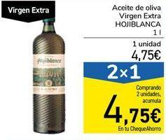 Oferta de Aceite de oliva Virgen Extra HOJIBLANCA por 4,75€