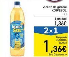 Oferta de Aceite de girasol KOIPESOL por 1,36€