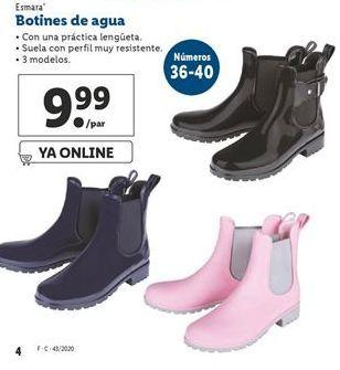 Oferta de Botines de agua esmara por 9,99€