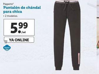 Oferta de Pantalón de chándal para chica  Pepperts por 5,99€