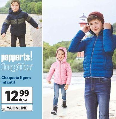 Oferta de Chaqueta ligera infantil Pepperts por 12,99€