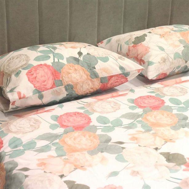 Oferta de 1 Funda nórdica + 2 Fundas Rose Dream 240x220 cm por 49,99€