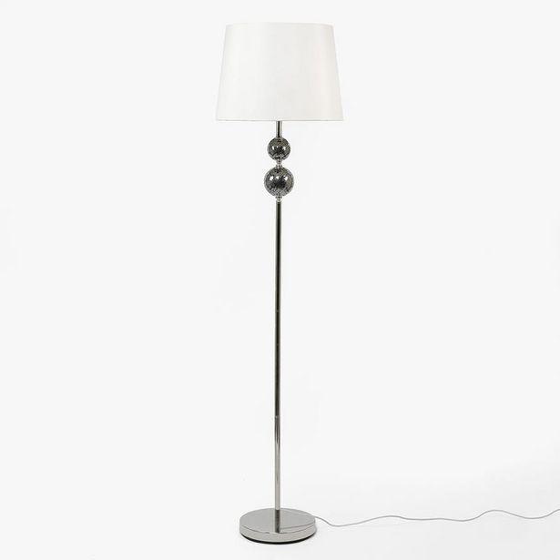 Oferta de Lámpara de Pie 2 Bolas Pantalla Blanco por 139€