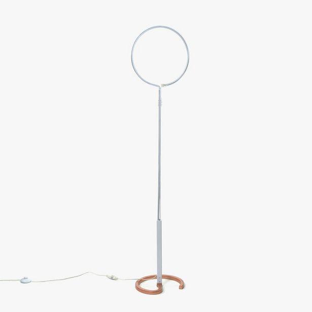 Oferta de Lámpara de Pie Círculo LED por 89,99€