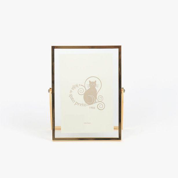 Oferta de Marco con Pie Oro 10x15 cm por 13,56€