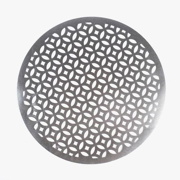 Oferta de Mantel Individual Geométrico Plata D: 38cm por 1,99€