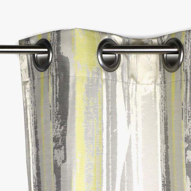 Oferta de Cortina Laki Amarillo 130x270 cm por 67,99€