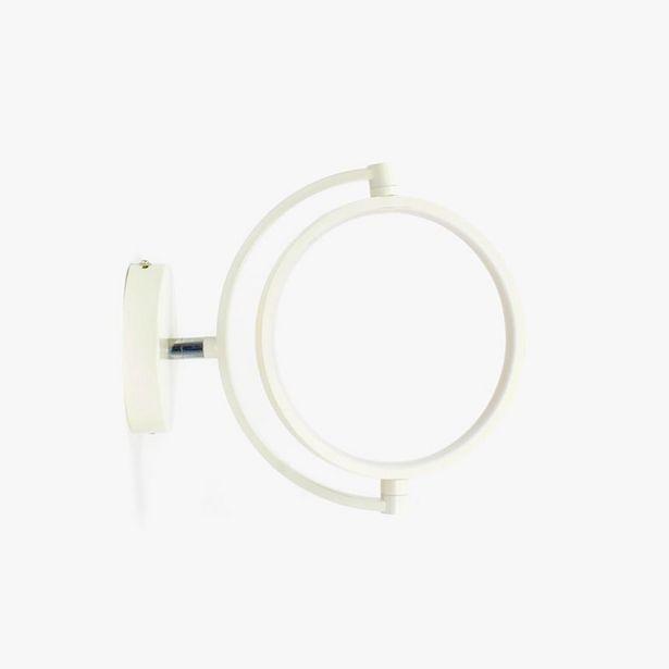 Oferta de Aplique de pared Globus Blanco por 19,99€