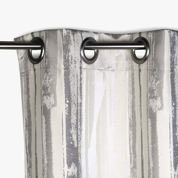 Oferta de Cortina Laki Natural 130x270 cm por 67,99€