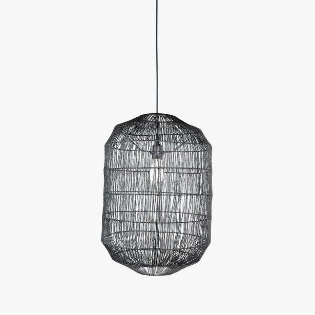Oferta de Lámpara de Techo Phuket Negro por 99,99€