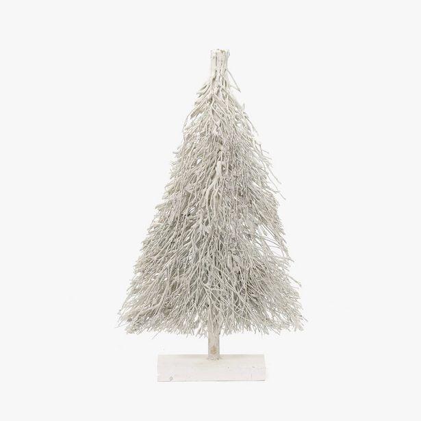 Oferta de Árbol Ramas Blancos 49x80 cm por 24,99€