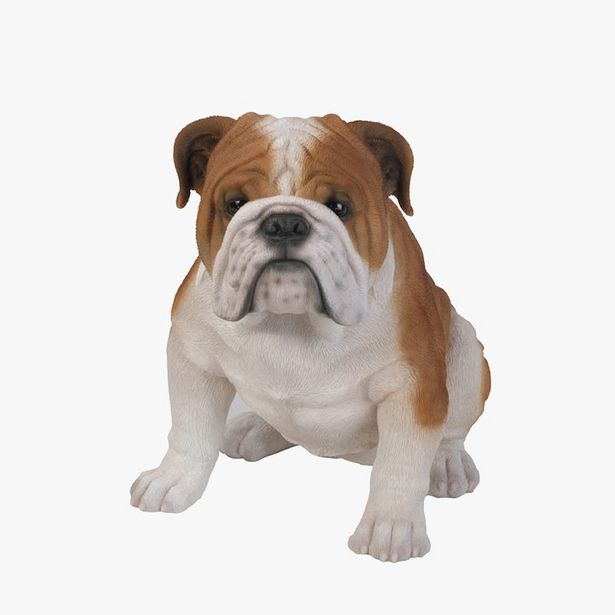 Oferta de Bulldog sentado 47x29x37 cm por 99,95€