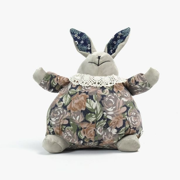 Oferta de Peso para puertas Peluche Conejo 25x13x22 cm por 7,99€