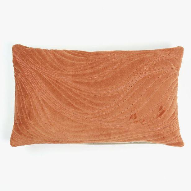 Oferta de Cojín Pumpkin Terciopelo Naranja 30x50 cm por 12,99€