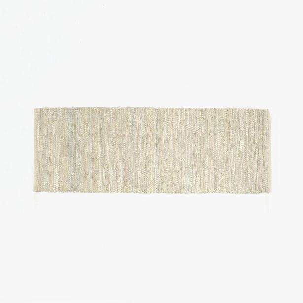 Oferta de Alfombra Tear Piel Beige 70x200 cm por 26,36€