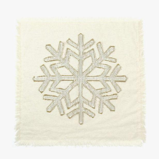 Oferta de Mantel Individual Hielo Natural 45x45 cm por 5,99€