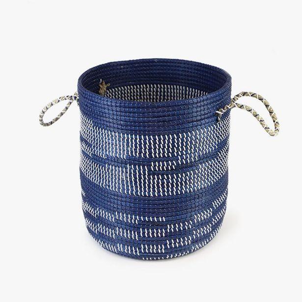 Oferta de Cesta Azul 52x42 cm por 59,99€