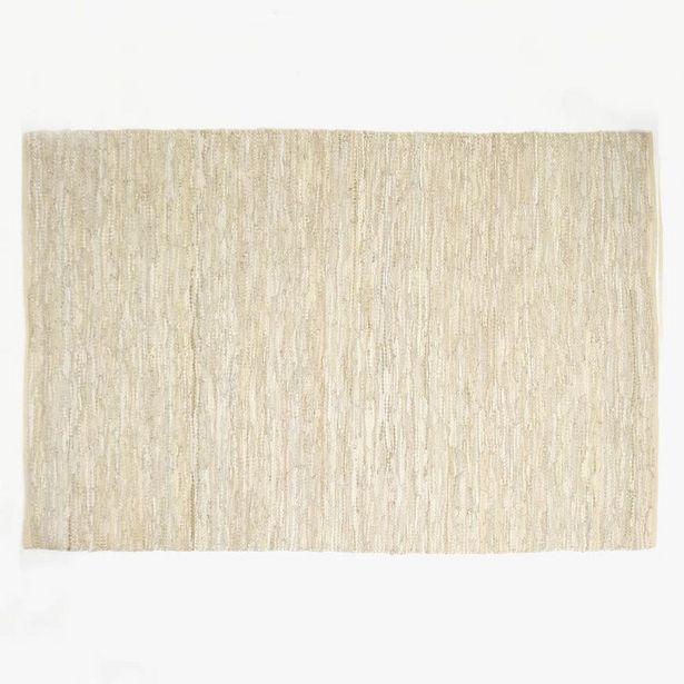 Oferta de Alfombra Tear Piel Beige 160x240 cm por 89,95€