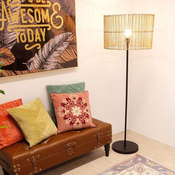 Oferta de Lámpara de Pie WickerD50x154 cm por 169€