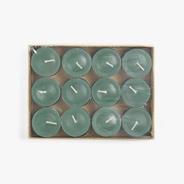 Oferta de Caja24tealights Manzana Verde por 3,99€