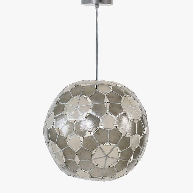 Oferta de Lámpara de Techo Globo Natural por 99,99€