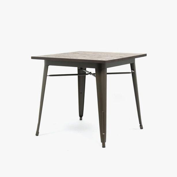 Oferta de Mesa Factory Wood80x80 cm por 250€