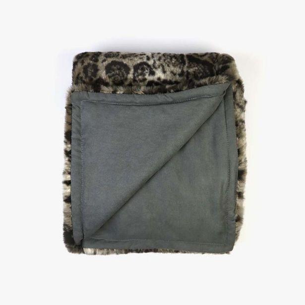 Oferta de Manta Leopardo Pelo 145x170 cm por 59,99€