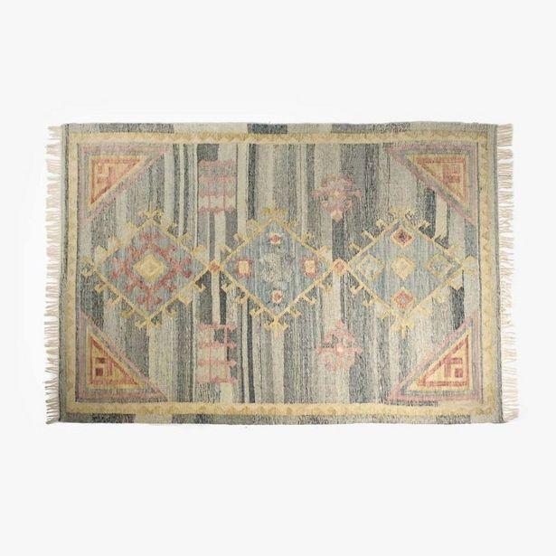 Oferta de Alfombra Kilim Azul 170x240 cm por 263,2€