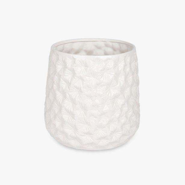 Oferta de Maceta Aquatic Blanco 30x29 cm por 23,99€