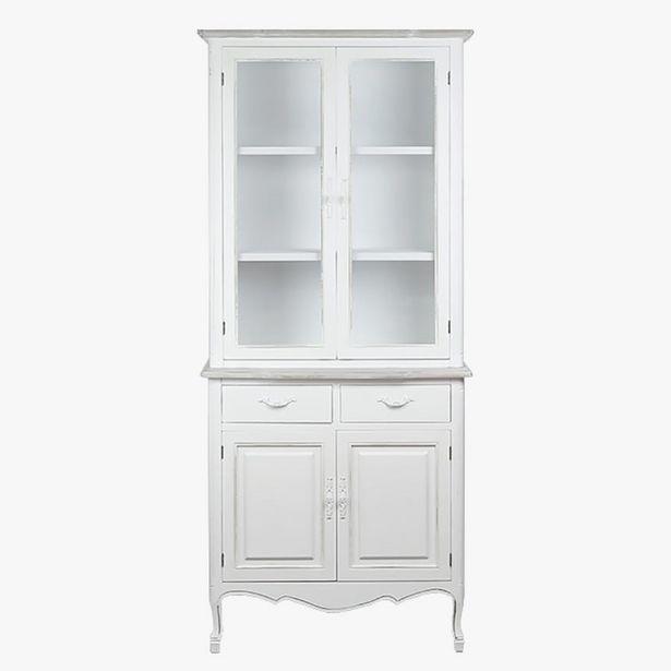 Oferta de Aparador Viena Blanco 88x40x198 cm por 699€