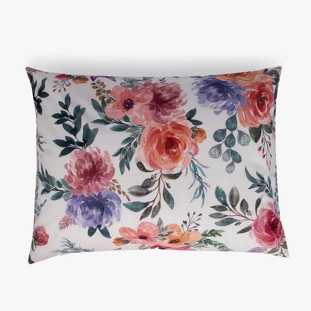 Oferta de Funda reversible Sweet Garden Multicolor 50x65 cm por 9,59€