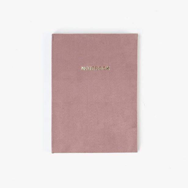 Oferta de Cuaderno NostalgieRose15x21 cm por 6,99€