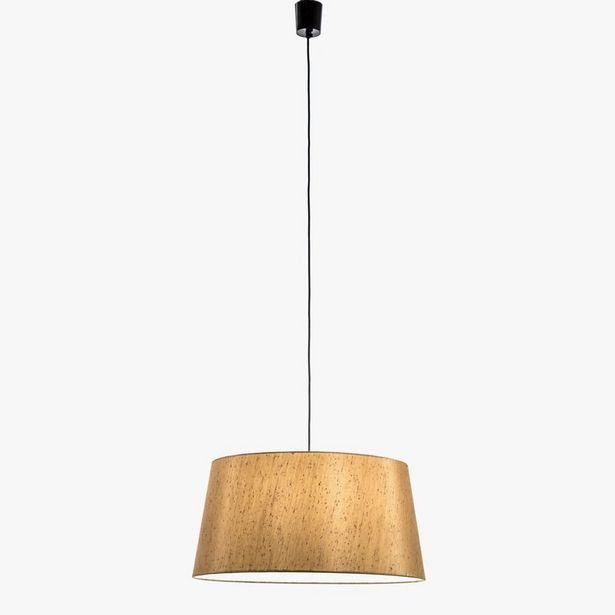 Oferta de Lámpara de Techo Shantung Oro por 39,99€